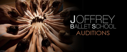 Saturday February 02 2013  - Joffrey Ballet School Auditions